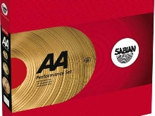 25005 - Pack cymbales Harmonique AA Performance 14'' 16'' 20''