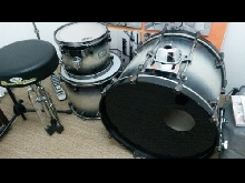 Mapex Orion + cymbals + Hardware + case +...