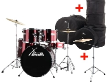SET DE BATTERIE ACOUSTIQUE DRUM KIT 20