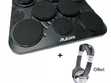 Pack Alesis COMPACTKIT-7 - batterie électronique de table + Casque Offert
