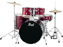 Batterie Pearl Roadshow Rock 22'' 5 fûts - Red Wine