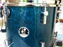 Sonor 12 x 10 delite vintage maple tom Birdseye l'azur