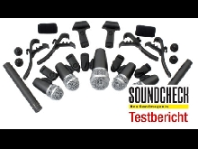 Set Microphones Dynamique Batterie Micro Drum Studio Enregistrement Coffre Clip