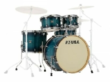 Tama Superstar Classic CL52KRS-BAB Blue Lacquer Burst - Batterie acoustique 5 f