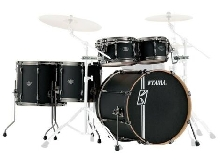 Tama Superstar Hyper-Drive Maple ML52HLZBNS-FBK Flat Black - Batterie acoustiqu