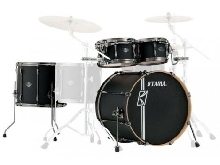 Tama Superstar Hyper-Drive Maple ML42HLZBNS-FBK Flat Black - Batterie acoustiqu