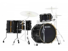 Tama Superstar Hyper-Drive ML40HZBN2-FBV Flat Black - Batterie acoustique 4 fût