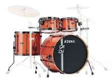 Tama Superstar Hyper-Drive Maple MK42HLZBNS-BOS Bright Orange Sparkle - Batteri