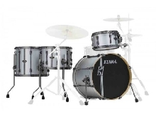 Tama Superstar Hyper-Drive Duo ML40HZBN2-SSV Satin Silver - Batterie acoustique