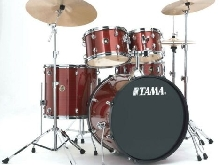 Tama Rhythm Mate RM52KH6C-RDS Red Stream - Batterie acoustique 5 fûts (+ cymbal