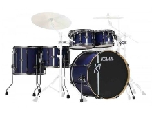 Tama Superstar Hyper-Drive Duo ML52HZBN2-SBV Satin Blue - Batterie acoustique 5