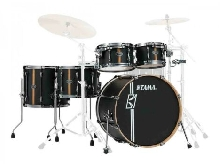 Tama Superstar Hyper-Drive Duo ML52HZBN2-FBV Flat Black - Batterie acoustique 5