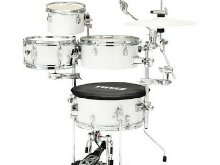 Tama Cocktail-Jam mini CJP44C-SGW Sugar White - Batterie acoustique 4 fûts ( sa