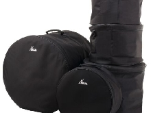 5x Set Housse Sac Batterie Percussion Toms Tambour Drum Set Bags Rembourrage