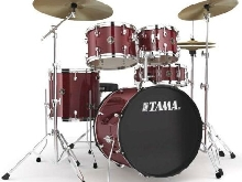 Tama Rhythm Mate RM50YH6C-RDS Red Stream - Batterie acoustique 5 fûts (+ cymbal