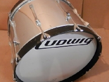 Ludwig 1980's 20x14 Marching Bass Drum! Nice Sound! Look!