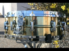 Namdemun Drums  Prototype Custom Messing Snare Drum 14