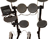 YAMAHA DTX400, batterie électronique, Electronic Drum Set Kit