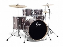 Gretsch Energy GE2 E605T Grey steel - Batterie Acoustique (sans cymbales)