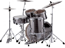 Batterie Pearl Export Fusion 20'' 5 fûts - smocky chrome