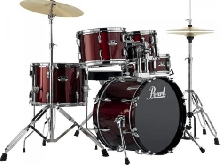 Batterie Pearl Roadshow Junior 18'' 5 fûts - Red Wine