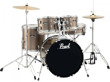 Batterie Pearl Roadshow Junior 18'' 5 fûts - Bronze Metallic