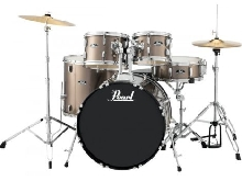 Batterie Pearl Roadshow Rock 22'' 5 fûts - Bronze Metallic
