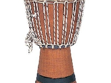 Performance Percussion DJE2 Djembé 22 cm Brun