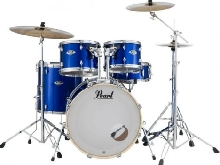 Batterie Pearl Export Fusion 20'' 5 fûts - High Voltage Blue